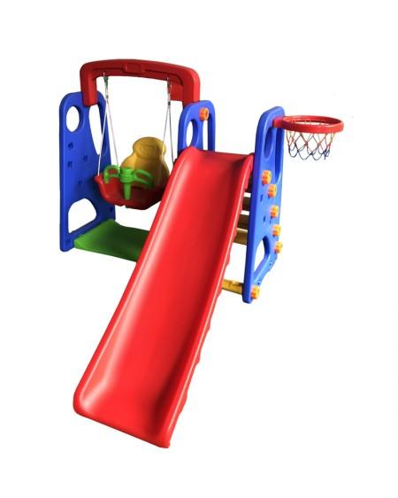 spielplatz für kinder 3-in-1
