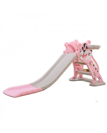 Slide for the children, kitten