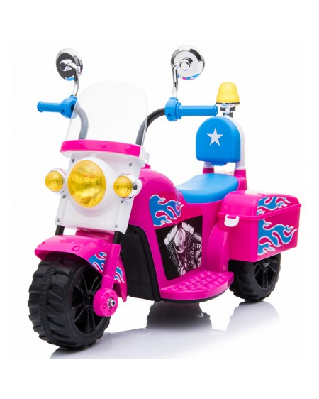 Electric Police Motorcycle for Kids