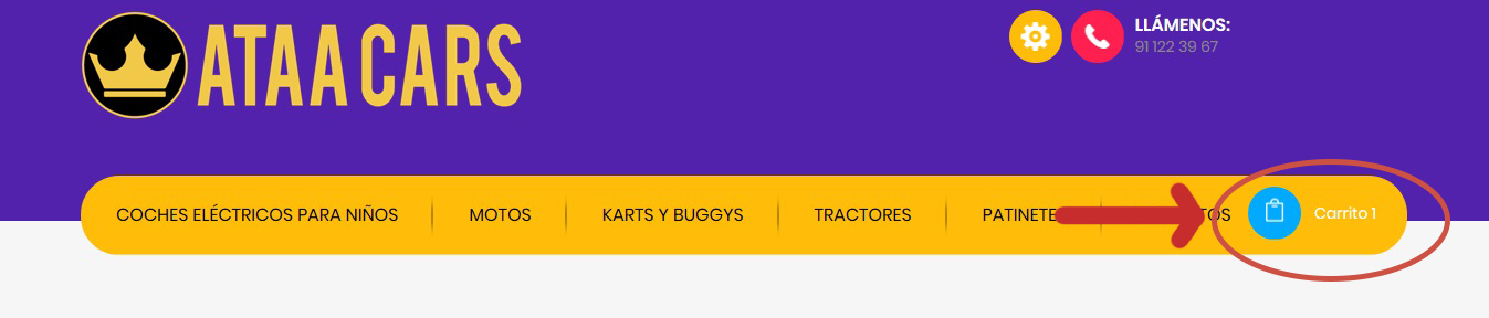 comprar coches de batería para niños