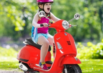 Electric motorcycles for children with battery